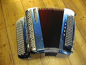 accordéon à boutons Organe Supersonic